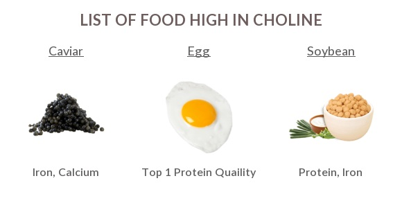High choline foods